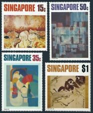 Singapore 153-156,MNH.Michel 156-159. Seah Kim Joo,Thomas Yeo,Yasman Aman,1972.