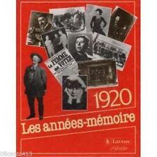 1920 Les Années-mémoir (French Hardcover Book) **See Details** (2035191122)