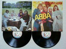"""DOUBLE LP 33T ABBA """"Golden double album""""  VOGUE 400685 FRANCE EX /"""