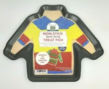 Non Stick SPORTS JERSEY UGLY SWEATER Treat Pan baking brownies cookies pizza