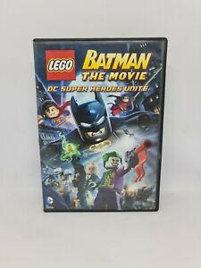 LEGO BATMAN THE MOVIE - DC Superheroes Unite Region 4 VGC FREE SHIPPING