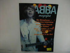 ORIGINAL  ABBA MAGAZINE No 34 APRIL 1981 GOOD/C COMPLETE