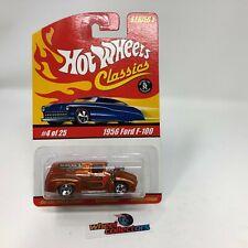 1956 Ford F-100 * Orange * Hot Wheels Classics * JC7
