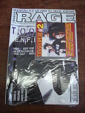 RAGE n°2- Juin 2001- TOOL- REM- IGGY POP- MASS HYSTERIA- MAGAZINE + CD