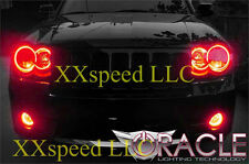 ORACLE for Jeep Grand Cherokee 2005-2010 RED LED Headlight Halo Angel Eyes Kit