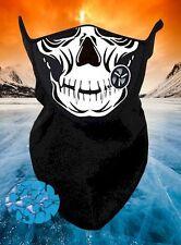 New Skull Neoprene Fleece Winter Neck Warm Face Mask Gaiter Scarf Motorcycle