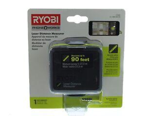 Ryobi ES1000 Phone Works Laser Distance Measurer 90ft for Smartphones
