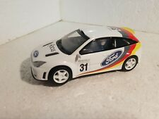 qq C 2427 W SCALEXTRIC UK FORD FOCUS RALLY #31 BLANCO DE SET C 1092 K
