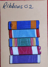 ribbons02 group of 5 US military ribbons