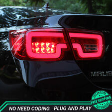 New For Chevrolet Malibu LED Taillights Dark Or Red LED Rear Lamps Quality 13-15
