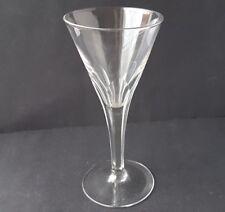 Glas Fuß- Becher Frankreich um 1910 - 1920  AL1036