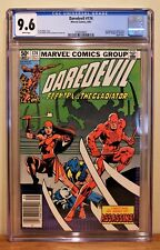 """DAREDEVIL #174 CGC 9.6 - WHITE PAGES **1ST APP. OF """"THE HAND"""".  ELEKTRA APP. **"""