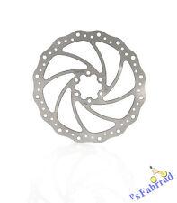 XLC Bremsscheibe für Shimano, Magura und Tektro BR-X01 180mm 6-loch silber Disc