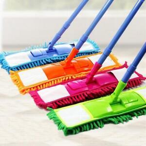 Extendable Microfibre Floor Mop Cleaner Sweeper Wooden Laminate Tile Wet Dry