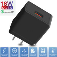 18W Fast Quick Charge QC3.0 Wall Charger Power Adapter For iSamsung Galaxy S21