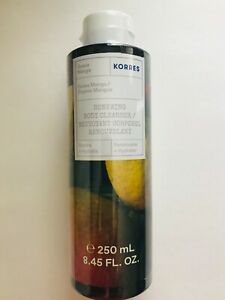 KORRES RENEWING BODY CLEANSER - GUAVA MANGO (Full Size 8.45oz/250ml)