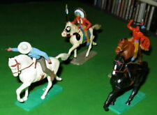 NICE LOT OF VINTAGE STARLUX MOUNTED COWBOYS AND INDIANS..........