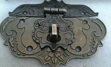 'Antique Style' Chinese Jewellery/Trinket box, Small chest clasp/latch,