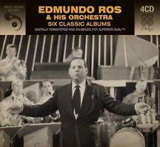 EDMUNDO ROS & HIS ORCHESTRA - 6 CLASSIC ALBUMS  4 CD NEU