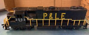 Vtg Life Like HO Engine ~ P & LE 2053 GP38 Diesel ~ Tested & Working