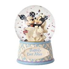 Jim Shore 4059185 Skulptur Schneekugel Mickey & Minnie ENESCO DISNEY TRADITIONS