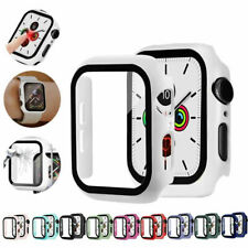 For Apple Watch Tempered Glass Case Screen Protector Series 3/4/5/6 Protective
