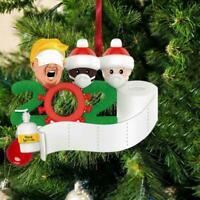 Weihnachtsbäume Hänge Ornamente Personalisierte Familien DIY Dekor K5I9