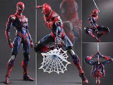 Square Enix Variant Play Arts Kai Marvel Universe Spider-Man Figurine No Box