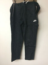 Nwt Nike Mens Nsw Legacy Pant Ft Black Heather French Terry 805148-032 Msrp $70