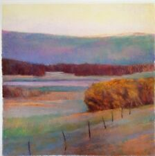 """Ken Elliott 27 5/8"""" Giclee VIEW TO THE GREEN HILL Signed & Numbered Ltd Edition"""