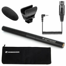 Sennheiser MKE-600 Shotgun Camcorder Microphone + KA600i Adapter Cable NEW