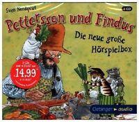 SVEN NORDQVIST - PETTERSSON UND FINDUS-DIE NEUE GR.HÖRSPIELBOX  3 CD NEU
