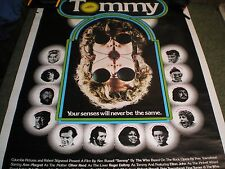 Vintage Tommy the Movie The Who 1975 Huge Rare Vg