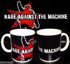 tazza mug music RAGE AGAINST THE MACHINE rock metal scodella ceramica