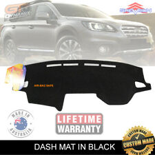 DASH MAT for Subaru OUTBACK Wagon GEN 5 DEC/2014-2019 DM1382 BLACK