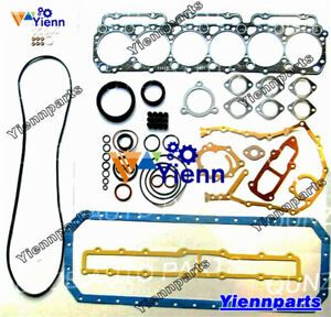 W06E WO6E W06ET full overhual Gasket Kit For Hino engine truck excavator repair