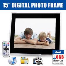 JPEG Digital Photo Frames 32MB Internal Memory Capacity