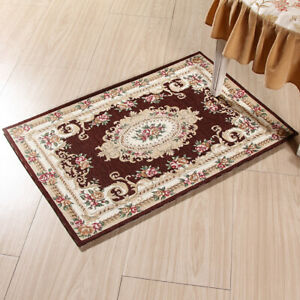 Elegant Classical Floral Staircase Carpet Floor Mats Rugs