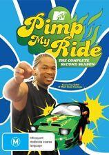 Pimp My Ride : Season 2 (DVD, 2007, 2-Disc Set) Region 4 Reality TV DVD Rated M