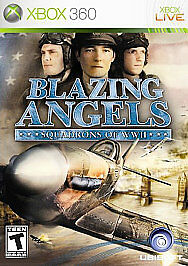 Blazing Angels: Squadrons of WW 2 XBOX 360 Action / Adventure (Video Game)