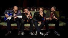 """Coldplay Rock Music Group Wall Poster 21x13"""" Decor 28"""
