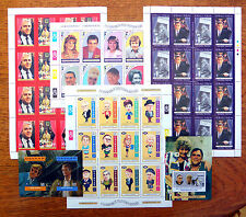GB Coronation Street Collection of 4 Sheetlets and 2 M/Sheets SALE PRICE BIN603