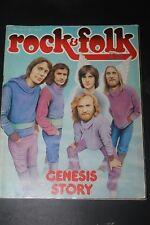 Rock & Folk N°126 - Juillet 1977 - 77 - Genesis Story