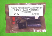 """KIT # 2 FOR  47"""" TVW18NK80Z  ADPF24350R1P 715T2454-1 & 715T2454-2 POWER SUPPLY"""