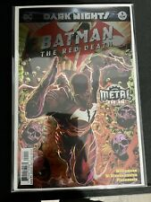 Batman: The Red Death #1 Dark Nights Metal/Foil Cover 1st Print NM+ 9.6-9.8!