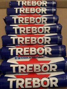 Trebor extra strong spearmint 10,20 and 40 rolls. Long date Trebor std size roll