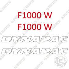 Dynapac F 1000 W Decal Kit Asphalt Paver Equipment Decals F1000W