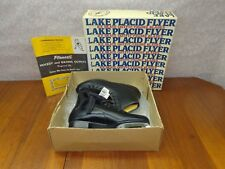 Lake Placid Flyer Mens BLACK Figure Ice Skates Model 283  Size 9 - New W/Tags