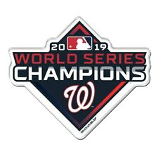 MLB Washington Nationals 2019 World Series Champions Precision-Cut Magnet