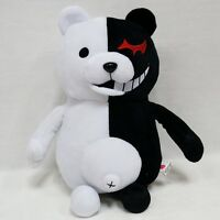 "25cm/9.8"" Dangan Ronpa Mono Kuma Black&White Bear Danganronpa Plush Toy Doll Hot"